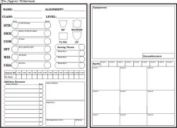 majestic wilderlands character sheet
