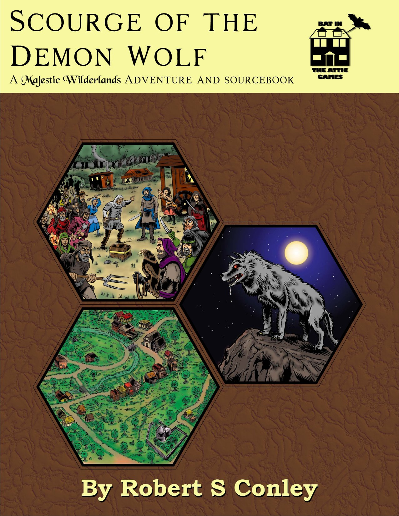 cover of scouge of the demon wolf