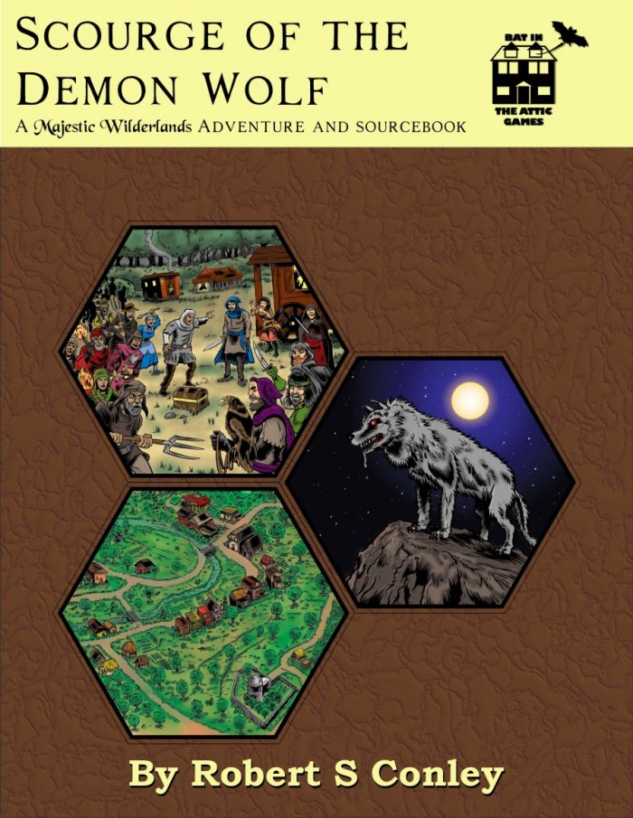 Scourge of the Demon Wolf Small Cover